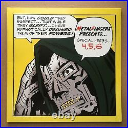 MF Doom Banned Album Cover Only No Vinyl Record Jacket Only Marvel Comics Dr