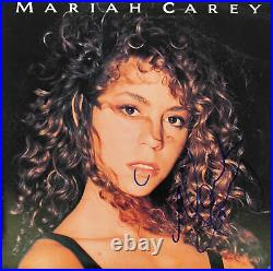 Mariah Carey Authentic Signed Self Titled Album Cover Autographed BAS #Z99335