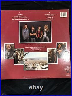 Metallica Master Of Puppets Original 1986 Elektra Pressing, EX Vinyl/ EX Cover