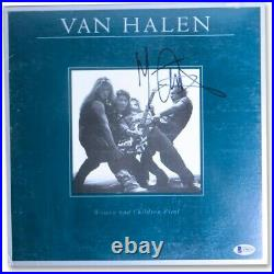 Michael Anthony Signed Autograph Album Cover Van Halen Women Children BAS A96039