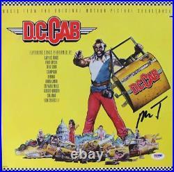 Mr. T D. C. Cab Signed Album Cover With Vinyl Autographed PSA/DNA #V16062