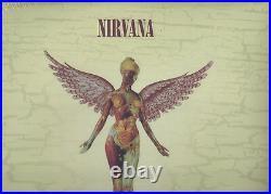 NIRVANA In Utero 20th Anniversary 3 VINYL LP Sealed Gatefold Cover