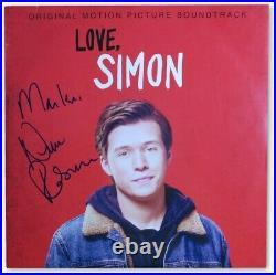 Nick Robinson Signed Autographed Record Album Cover Love, Simon JSA II72846