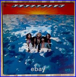 ORIGINAL 1973 AEROSMITH 1st Album MISPRINT Walking the DIG COVER Lp Vinyl EUC+