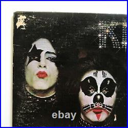 ORIGINAL 1974 KISS 1st Album NO KISSIN TIME on VINYL but is on Cover Lp NB 9001
