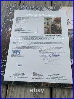 OZZY OSBOURNE Signed Black Sabbath Vinyl LP Autographed JSA LOA Album cover