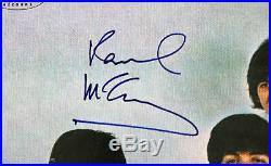 Paul McCartney Authentic Signed Yesterday & Today Album Cover PSA/DNA #Q02568