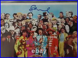 Paul McCartney Autographed Sgt. Peppers Album Cover JSA Certified