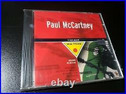 Paul McCartney Unplugged BRAZIL SEALED Rare Cover CD -beatles butcher love me do