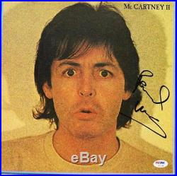 Paul Mccartney The Beatles Signed Album Cover Auto Graded 10! PSA/DNA #U01344