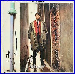 Pete Townshend & Roger Daltrey The Who Signed Album Cover With Vinyl JSA #X97956