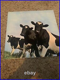Pink Floyd Autographed Vinyl Cover Album Atom Heart Mother Waters Mason RareV131