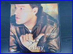 Pink Floyd David Gilmour Hand Signed Album Cover Todd Mueller COA