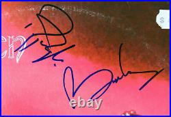 Queen Brian May & Roger Taylor Signed Self Titled Album Cover With Vinyl BAS