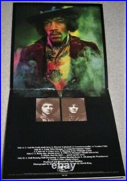 RAR JIMI HENDRIX Electric Ladyland 2 LP 1968 UK Track 613 008/009 NUDE Cover