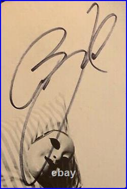 RARE! Billy Joel Signed The Stranger Album Cover Piano Man