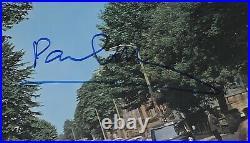 RARE! Paul McCartney Signed The Beatles Abbey Road Album Cover JSA COA Perfect