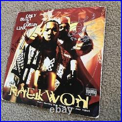 Raekwon Cuban Linx Signed Autographed Record Album Cover Wu-Tang Ghostface