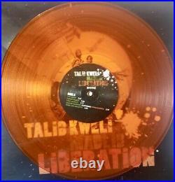 Rare BANKSY Silver Flags Album Cover (Lim. Ed. Orange LP) Talib Kweli Liberation