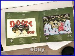 Rare Metal Fingers / MF Doom vinyl Special Herbs 1+2 Gatefold Cover 2003 OG