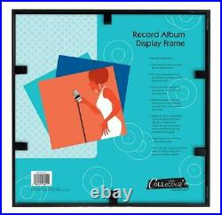 Record Album Cover Frame LP Vinyl Collection Sleeve Disc Wall Desk Mount Display