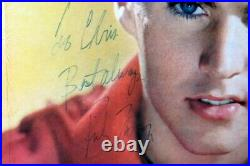 Ricky Nelson Signed Autographed Record Album Cover Ricky Sings Again JSA BB40607