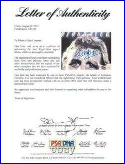 Ringo Starr Rotogravure Signed Album Cover With Vinyl The Beatles PSA/DNA #U01339