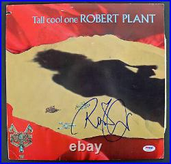 Robert Plant Signed'Tall Cool One' Album Cover With Vinyl PSA/DNA #AB81050