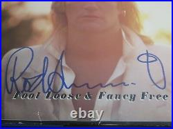 Rod Stewart Signed Foot Loose And Fancy Free Vinyl Album Cover Jsa Authenticated