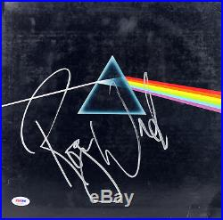 Roger Waters Signed Dark Side Of The Moon Album Cover With Vinyl PSA #AC63003