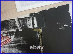 Rolling Stones LP Sticky Fingers/Zipper Cover German 1C06463152 IN Mint