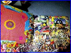 Rolling Stones Their Satanic Majesties Request LP Record (3D Cover)