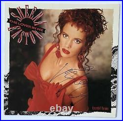 SHEENA EASTON Signed Autograph The Lover in Me Album Record LP Cover JSA Authe