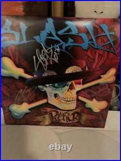 SLASH Myles Kennedy Autographed SOLO Album LP Cover Vinyl Guarantee 100%