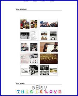 SUPER JUNIOR THIS IS LOVE 7th Album Special Edition Random Cover CD+Photobook