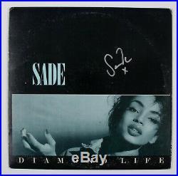 Sade Signed Album Cover Autograph Diamond Life Record Included BAS Beckett