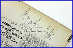 Sammy Davis Jr. All My Best Signed Album Cover With Vinyl BAS #C15049