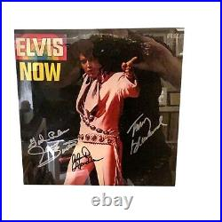 Signed Elvis Presley Album Cover