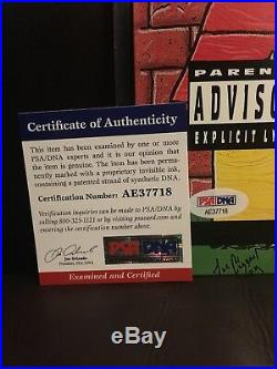 Snoop Dogg Signed Authentic Autographed Album Cover with Vinyl PSA/DNA