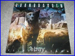 Soundgarden Singer Chris Cornell Signed Telephantasm Album Cover Flat Photo Coa