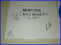 Sublime With Rome Signed LP & Cover 2017 Demos 431/1500 JSA #R92525 Record Album