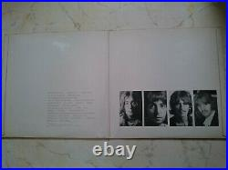 THE BEATLES White Album UK PCS 7068FULLY LAMINATED TOP OPEN COVER NO. 0342216