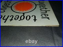 TOGETHER LP 1969 RARE PRIVATE NJ FOLK PSYCH on RANSOM LABEL Screen Printed Cover