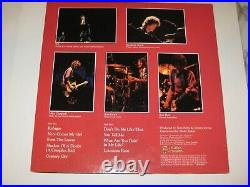 TOM PETTY Signed DAMN THE TORPEDOES LP ALBUM COVER with Beckett LOA