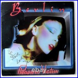 Terri Nunn Signed Autographed Album Cover Berlin Pleasure Victim JSA HH36270