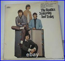 The Beatles Butcher Cover Yesterday & Today Lp (1966 Mono) 2nd State Unpeeled