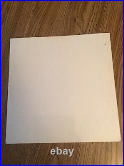 The Beatles White Album 1969 UK side loading Lp laminated cover near mint cond