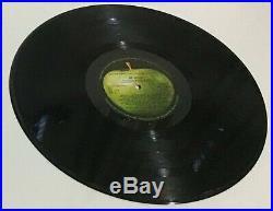 The Beatles White Album UK 1st Vinyl & Cover Ex+ Poster/Photos/inners Nr Mnt