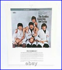 The Beatles Yesterday And Today Butcher Cover Album Slick Us Limited