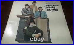 The Beatles Yesterday And Today Butcher Cover Vinyl Lp Record Album As Is
